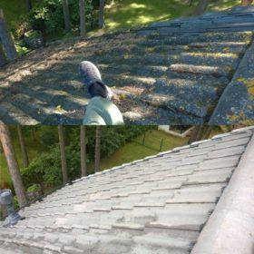 Katuse pesu enne ja pärast