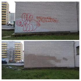 Grafiti puhastus!